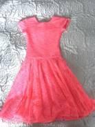 Платья для бальных танцев. Рост: 122-128 см