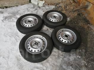 Комплект летних колес на 13. x13 4x100.00 ЦО 54,0мм.