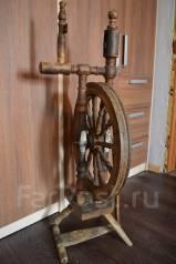 Старинная прялка с колесом. Под реставрацию. Прошлый век! ТоргОбмен. Оригинал