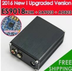 Цап Sabre ESS ES9018K2M + AD823 + SA9023 USB DAC