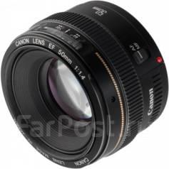 Объектив Canon EF 50mm f/1.4 USM + Светофильтр Marumi DHG Super Circul. диаметр фильтра 58 мм