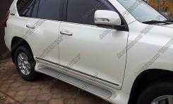 Накладка на подножку. Toyota Land Cruiser Prado. Под заказ