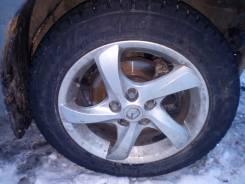 Комплект диски Mazda 6 GG 205/55/16 в Барнауле. x16 5x114.30 ET50 ЦО 67,1мм.