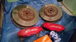 Тормоза mitsubishi sumitomo 4pot диски, ступицы. Mitsubishi GTO, Z15A, Z16A