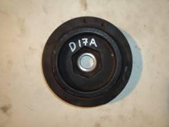 Шкив коленвала. Honda Edix, CBA-BE1, ABA-BE2 Honda Stream, LA-RN2, RN1, LA-RN1, UA-RN1, CBA-RN1, ABA-RN2 Honda FR-V Двигатели: D17A, D17A2