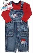 Комбинезоны джинсовые. Рост: 86-98, 98-104 см. Под заказ