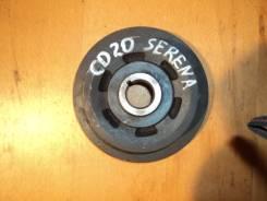 Шкив коленвала. Nissan Serena, KVC23 Двигатели: CD20ET, CD20T
