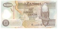 Банкнота 500 Kwacha Zambia