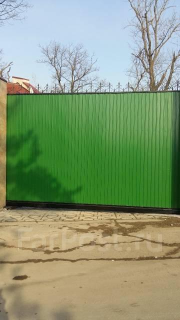 Ремонт автоматических откатных и распашных ворот
