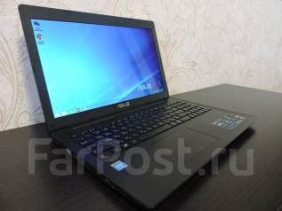 "Asus X553MA. 15.6"", 2,6ГГц, ОЗУ 2048 Мб, диск 80 Гб, WiFi, Bluetooth, аккумулятор на 3 ч."