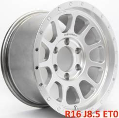 Новые! Dennon R16 J8.5 ET0 6X139.7 Серебро [2253]. 8.5x16, 6x139.70, ET0, ЦО 106,1мм.
