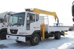 Daewoo Novus. Новый с манипулятором Soosan 736 во Владивостоке, 5 890 куб. см., 4 500 кг.