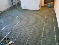Установка теплого пола электрического провод или пленка 400р