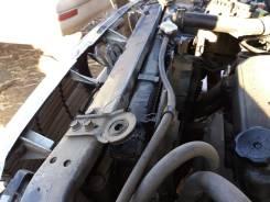 Радиатор охлаждения двигателя. Mitsubishi Diamante, F12A Двигатель 6A12