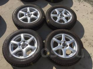 165/70 R14 Bridgestone Blizzak Revo2 литые диски 4х100 (К7-1401). 4.5x14 4x100.00 ET42