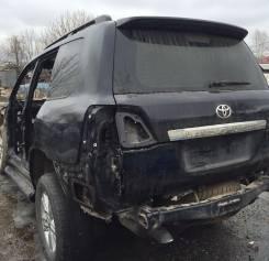 Toyota Land Cruiser. Птс с рамой 200, чёрный 2013 дизель