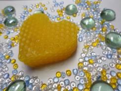 Мыло ручной работы на травах, с витаминами и на меду!
