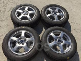 175/65 R14 Bridgestone Blizzak Revo GZ литые диски 4х100 (R7-1408). 5.5x14 4x100.00 ET45