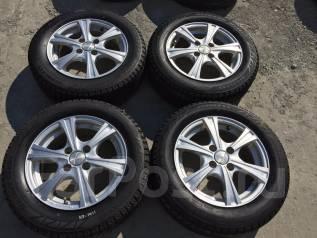 175/65 R14 Bridgestone Blizzak Revo2 литые диски 4х100 (К7-1411). 5.5x14 4x100.00 ET42