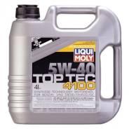 Liqui moly Top Tec. Вязкость 5W-40, гидрокрекинговое