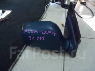 Зеркало заднего вида боковое. Toyota Ipsum, SXM10G, SXM10