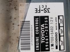 Блок управления двс. Toyota Celica, ST202, ST203 Toyota Carina ED, ST202, ST203, ST200 Toyota Corona Exiv, ST203, ST202 Toyota Curren, ST207, ST206 Дв...
