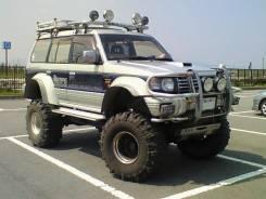 Расширитель крыла. Mitsubishi Pajero, V44WG, V43W, V44W, V45W, V46W, V46V, V46WG. Под заказ