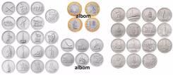 Набор 40 монет 5 и 10р посвященных Великой Отечественной войне 41-45гг