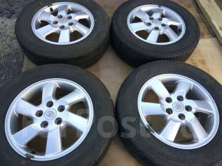 Продам летние шины 215/65R16 на литых дисках Toyota Rush. x16 5x114.30 ET50
