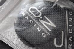 "Наклейки OZ Racing 4шт комплект для колпаков, диаметр 56.5мм (опт). Диаметр 16"""", 1шт"