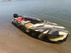 Казанка-М. длина 4,65м., двигатель подвесной, бензин