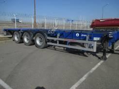 Grunwald. Полуприцеп-контейнеровоз , 32 350 кг.