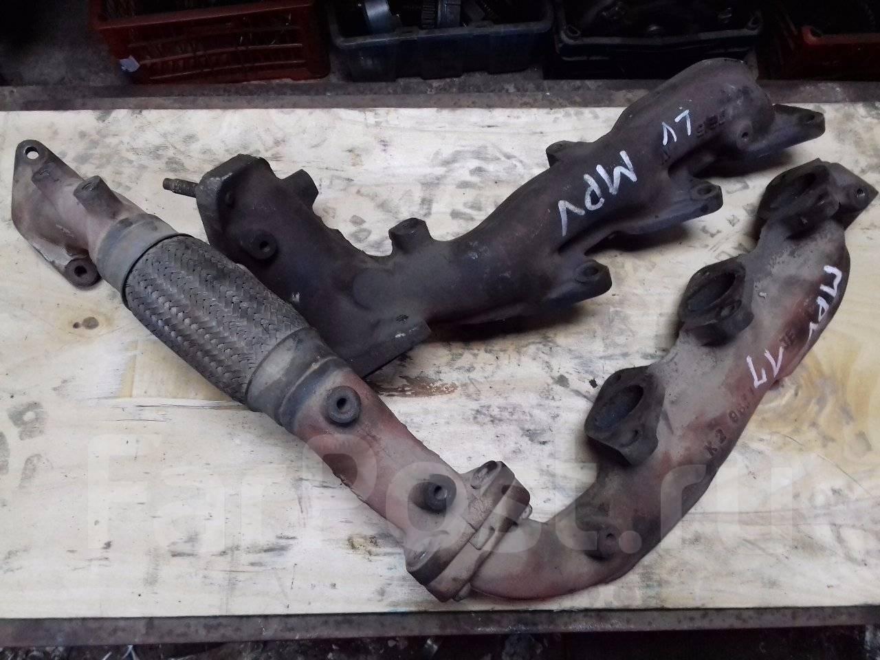 двигатель mazda mpv lw v 2.5 gy-de прокладка выпускного коллектора