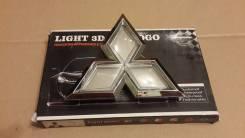 Продам эмблему Mitsubishi с подсветкой (белая)