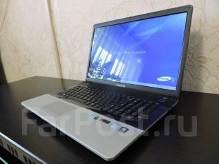 Samsung 300E7A. 17.3дюймов (44см), 2,5ГГц, ОЗУ 4096 Мб, диск 500 Гб, WiFi, Bluetooth
