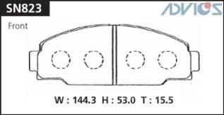 Колодка тормозная дисковая. Toyota Toyoace, YY211, YY52, LY121, YY201, YY121, LY211, LY201, LY212, LY202, LY60, LY50, LY61, LY51, YY50, YY61, YY51 Toy...