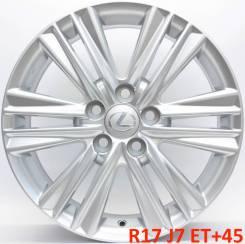 Lexus. 7.5x17, 5x114.30, ET45, ЦО 60,1мм.