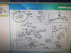 Муфта сцепления. Toyota Alphard, ANH25, GGH25 Toyota Vellfire, ANH25, GGH25 Двигатели: 2AZFE, 2GRFE