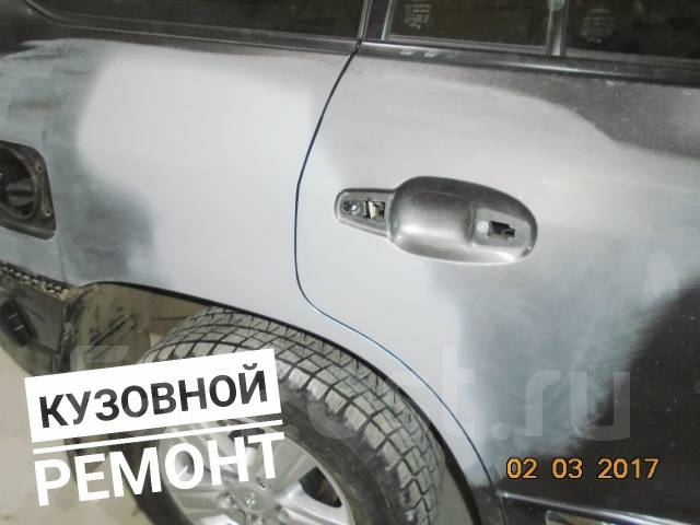 Защитное покрытие Титан. Высокая прочность. Кузовной ремонт.