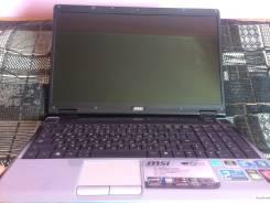 "MSI GE603. 16"", 2 400,0ГГц, ОЗУ 3072 Мб, диск 320 Гб, WiFi, Bluetooth, аккумулятор на 1 ч."