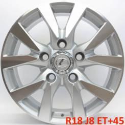 Lexus. 8.0x18, 5x150.00, ET45, ЦО 110,1мм.