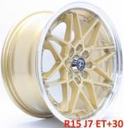 Новые! LF Works R15 J7 ET+30 4X100/114.3 [2281]. 7.0x15, 4x100.00, 4x114.30, ET30, ЦО 73,1мм.