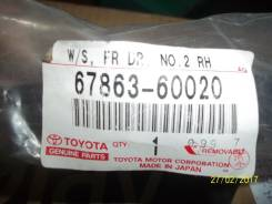 Уплотнитель двери. Toyota Land Cruiser, HDJ100, UZJ100 Двигатели: 2UZFE, 1HDFTE