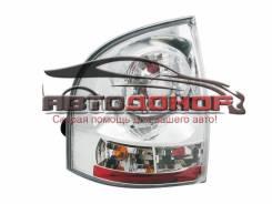 Задние фонари Лада Калина (ВАЗ 1118) седан, c хромированной подложкой