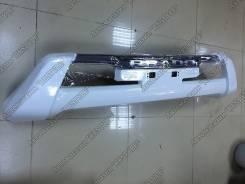 Накладка на бампер. Toyota Land Cruiser Prado, GRJ150L, GDJ150L, KDJ150L, TRJ150, GRJ150W, TRJ150W, GDJ150W, GRJ150, GDJ151W, TRJ12, GRJ151W Двигатели...