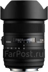 Объектив Sigma AF 12-24 mm F4.5-5.6 II DG HSM для Nikon полный кадр. Для Nikon, диаметр фильтра 82 мм
