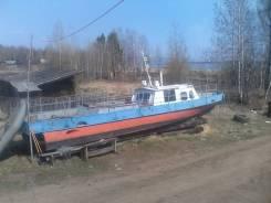 Костромской судомеханический завод. Год: 1998 год, длина 11,50м., двигатель стационарный, 111,00л.с., дизель
