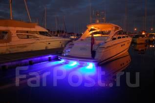 Тюнинг. Подводная подсветка. Для желающих выделить свою яхту.