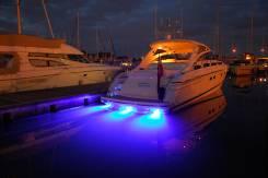 Тюнинг. Подводная подсветка. Для желающих выделить свою яхту