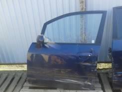 Дверь Mazda Premacy 2001 год, левая передняя.